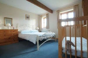 Double Bedroom ensuite at Hucklesbrook Farm