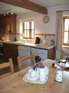 Welcome tray at New Forest Holiday Cottages
