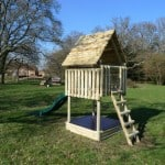 play fort at new forest holiday cottages